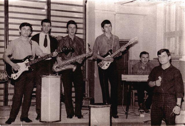 1968 г. Александр Кособоков, Виктор Попазов, Валентин Демьяненко, Юрий Ясинский, Виктор Коломийченко, Аркадий Хоралов