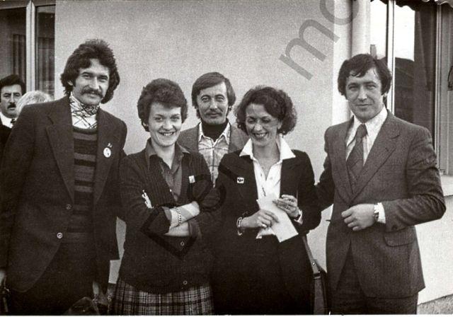 1979 г. Франция. Юрий Ясинский, администратор, Виктор Чигрин, администратор, Владимир Диордиев