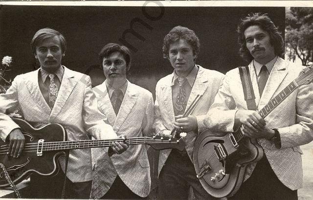 1973 г. Виктор Чигрин, Борис Веледницкий, Роман Колманович, Юрий Ясинский