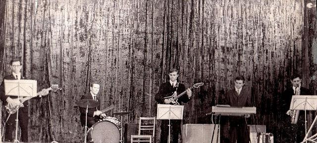 1970 г. Владимир Генов, Владимир Брустинов, Виктор Диордиев, Владимир Оксамитный, Гарик Гольштейн