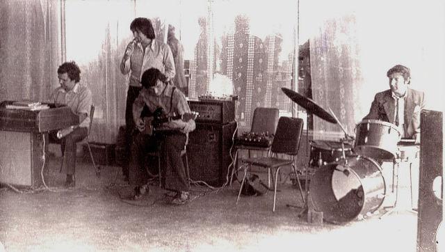 1982 г. Владимир Оксамитный, Михаил Златов, Владимир Паленый, Константин Шомко