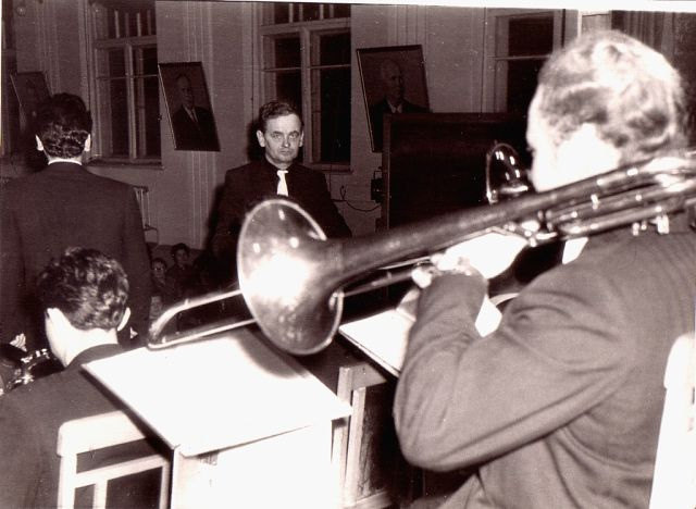 Репетиция оркестра в 1962 году